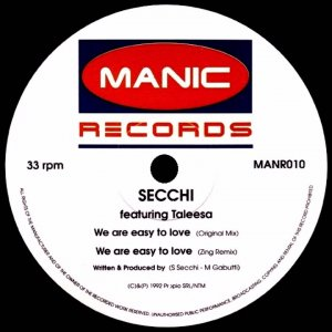 Secchi - We Are Easy To Love (Original Mix)