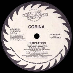 Corina - Temptation (New School Freestyle)