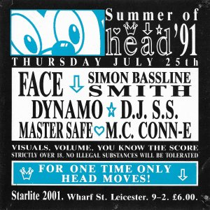 Head - Summer Of 91 @ Starlite 2001 - Leicester - 25th July 1991 .jpg