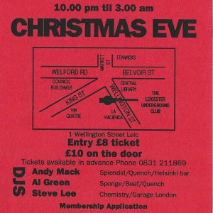 Lost @ The Leicester Underground Club - 24th December 1992 - B .jpg