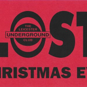 Lost @ The Leicester Underground Club - 24th December 1992 -A .jpg