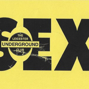 Sex @ The Leicester Underground Club - 23rd January 1993 - A .jpg
